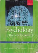 Psychology in the work context